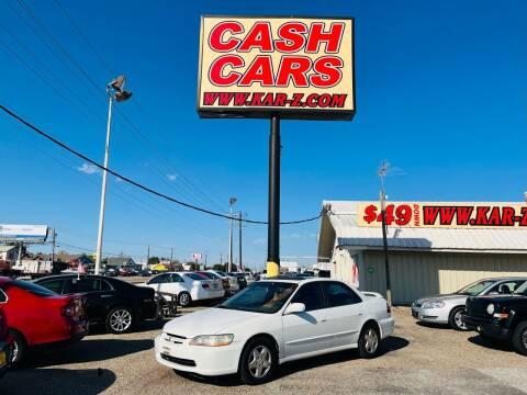 1998 Honda Accord for sale at www.CashKarz.com in Dallas TX