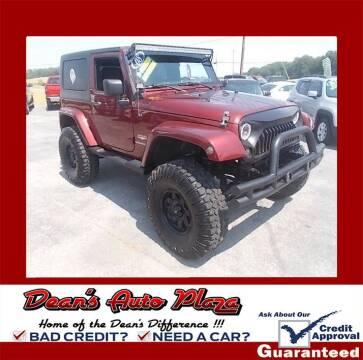 2008 Jeep Wrangler for sale at Dean's Auto Plaza in Hanover PA