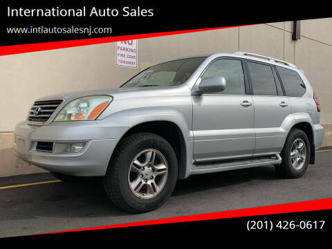 2007 Lexus GX 470 for sale at International Auto Sales in Hasbrouck Heights NJ