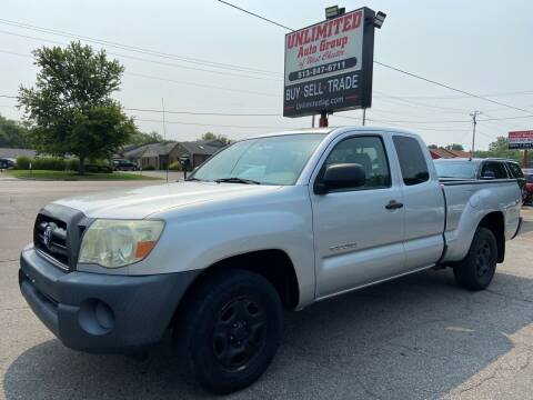 2006 Toyota Tacoma for sale at Unlimited Auto Group in West Chester OH