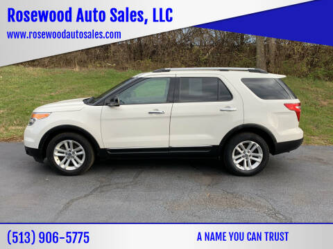 2011 Ford Explorer for sale at Rosewood Auto Sales, LLC in Hamilton OH