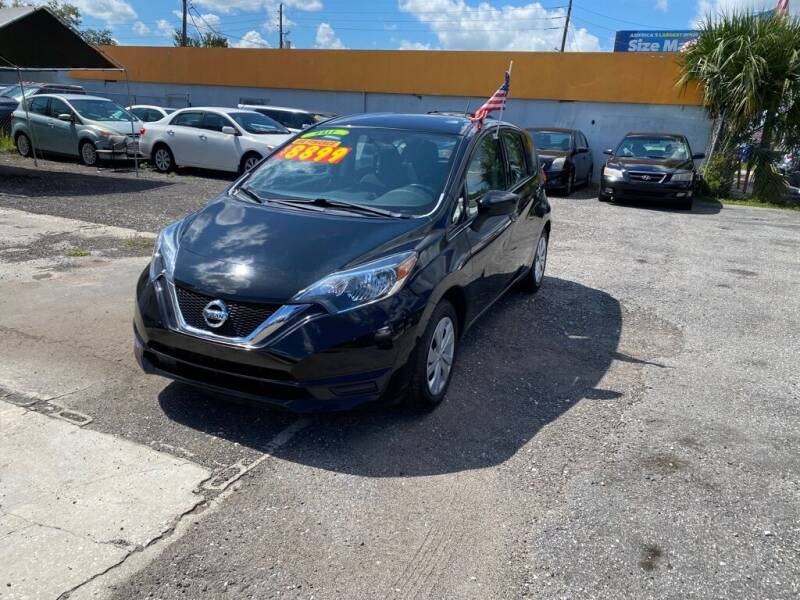 2017 Nissan Versa Note for sale at CENTRAL FLORIDA AUTO MART LLC in Orlando FL
