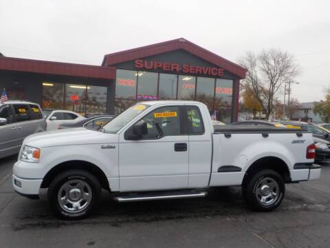 2005 Ford F-150 for sale at Super Service Used Cars in Milwaukee WI