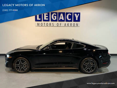 2019 Ford Mustang for sale at LEGACY MOTORS OF AKRON in Akron OH
