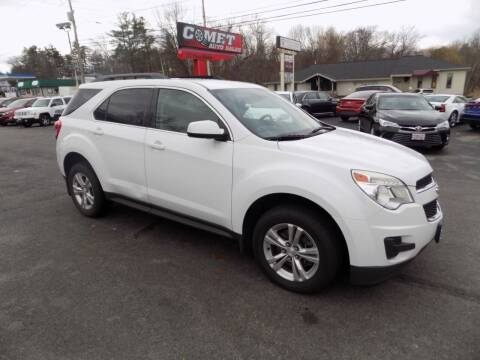 2013 Chevrolet Equinox for sale at Comet Auto Sales in Manchester NH