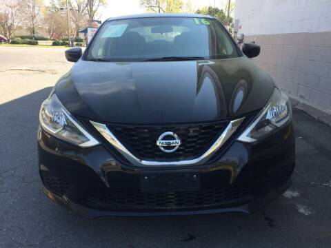 2016 Nissan Sentra for sale at Eastern Auto Sales NC in Charlotte NC