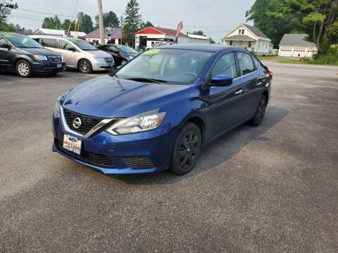 2017 Nissan Sentra for sale at Excellent Autos in Amsterdam NY