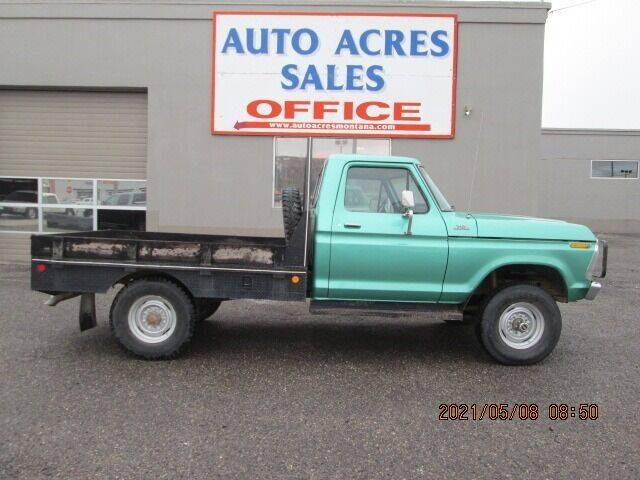 1977 Ford F-250 for sale at Auto Acres in Billings MT