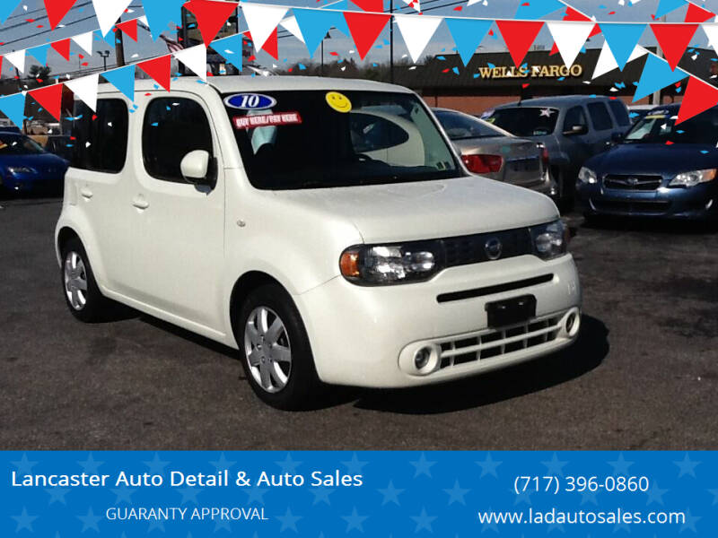 2010 Nissan cube for sale at Lancaster Auto Detail & Auto Sales in Lancaster PA