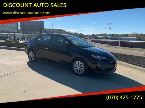 2018 Toyota Corolla for sale at DISCOUNT AUTO SALES in Mountain Home AR