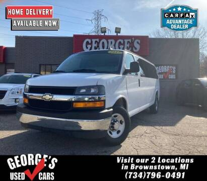 2017 Chevrolet Express Passenger for sale at George's Used Cars - Telegraph in Brownstown MI