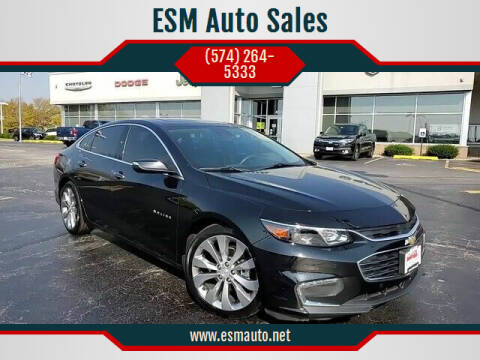 2017 Chevrolet Malibu for sale at ESM Auto Sales - Consignment in Elkhart IN