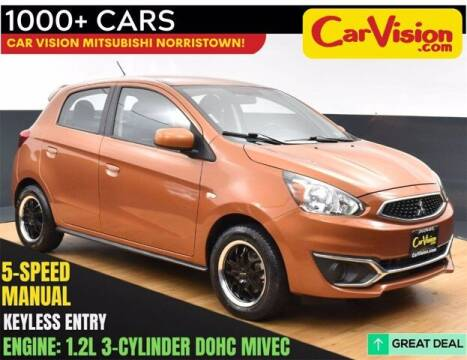 2019 Mitsubishi Mirage for sale at Car Vision Buying Center in Norristown PA