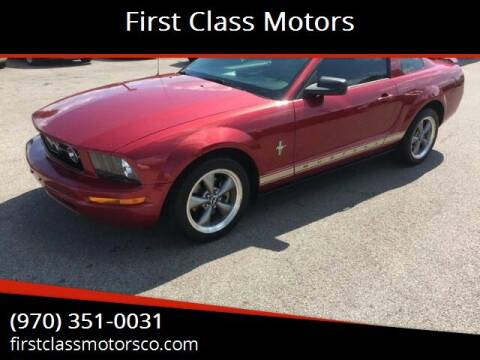2006 Ford Mustang for sale at First Class Motors in Greeley CO