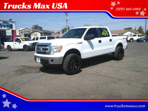 2013 Ford F-150 for sale at Trucks Max USA in Manteca CA