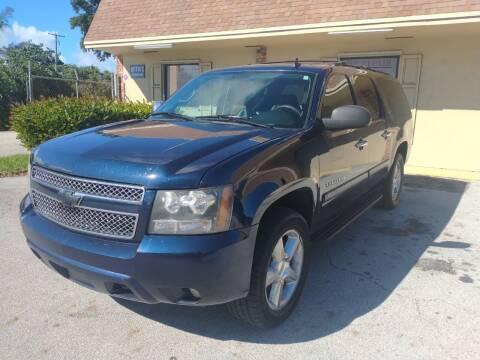 2008 Chevrolet Suburban for sale at LAND & SEA BROKERS INC in Pompano Beach FL