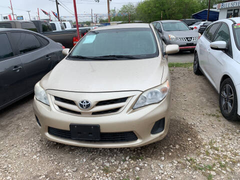 2012 Toyota Corolla for sale at BULLSEYE MOTORS INC in New Braunfels TX