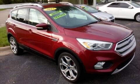 2017 Ford Escape for sale at Jim Clark Auto World in Topeka KS