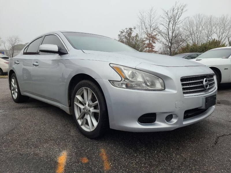 2011 Nissan Maxima for sale at Central 1 Auto Brokers in Virginia Beach VA