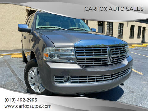 2013 Lincoln Navigator for sale at Carfox Auto Sales in Tampa FL