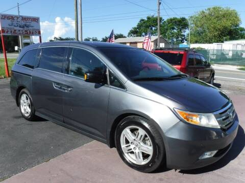 2012 Honda Odyssey for sale at LEGACY MOTORS INC in New Port Richey FL
