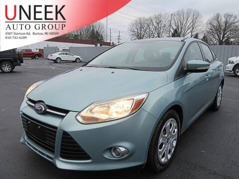 2012 Ford Focus for sale at Uneek Auto Group LLC in Burton MI