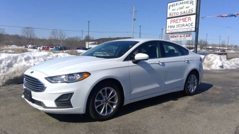 2019 Ford Fusion for sale at Premier Auto Sales Inc. in Big Rapids MI