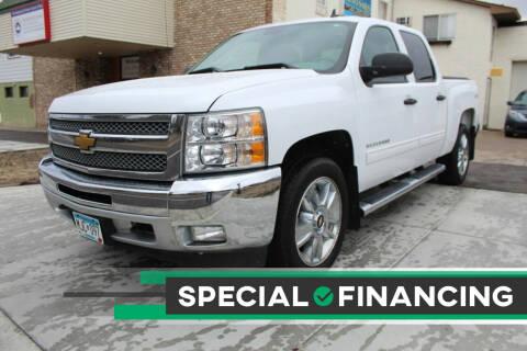 2012 Chevrolet Silverado 1500 for sale at K & L Auto Sales in Saint Paul MN