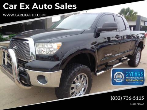 2012 Toyota Tundra for sale at Car Ex Auto Sales in Houston TX