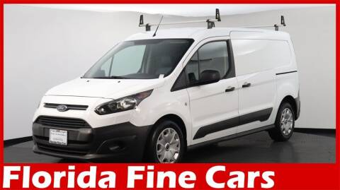 2017 Ford Transit Connect Cargo for sale at Florida Fine Cars - West Palm Beach in West Palm Beach FL
