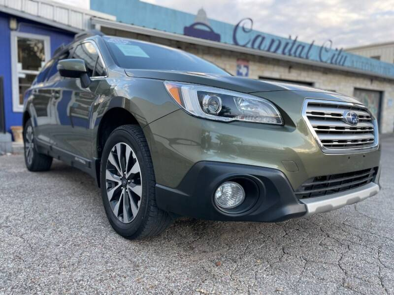 2017 Subaru Outback for sale at Capital City Automotive in Austin TX