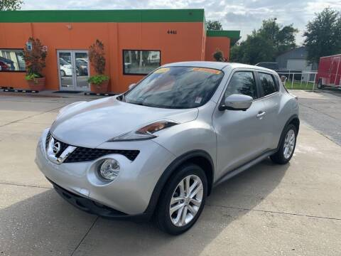 2015 Nissan JUKE for sale at Galaxy Auto Service, Inc. in Orlando FL