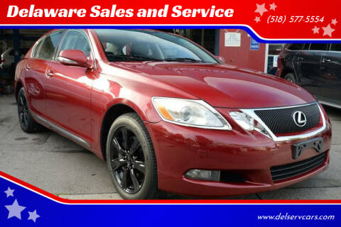 2009 Lexus GS 350 for sale at Delaware Sales and Service in Albany NY