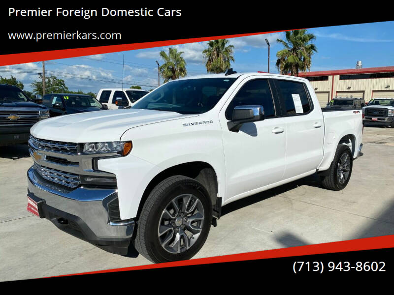 2020 Chevrolet Silverado 1500 for sale at Premier Foreign Domestic Cars in Houston TX