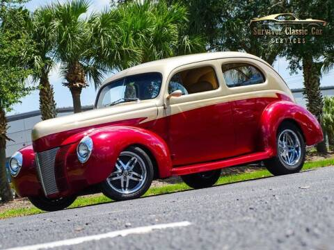 1940 Ford Sedan for sale at SURVIVOR CLASSIC CAR SERVICES in Palmetto FL