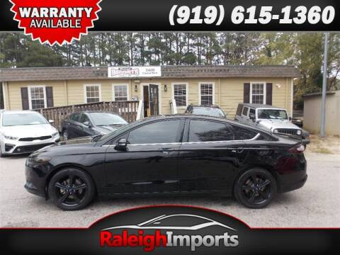 2016 Ford Fusion for sale at Raleigh Imports in Raleigh NC