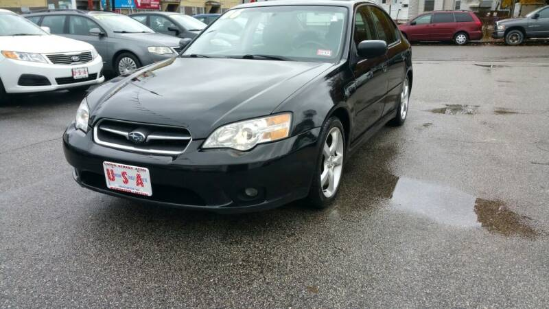 2006 Subaru Legacy for sale at Union Street Auto in Manchester NH