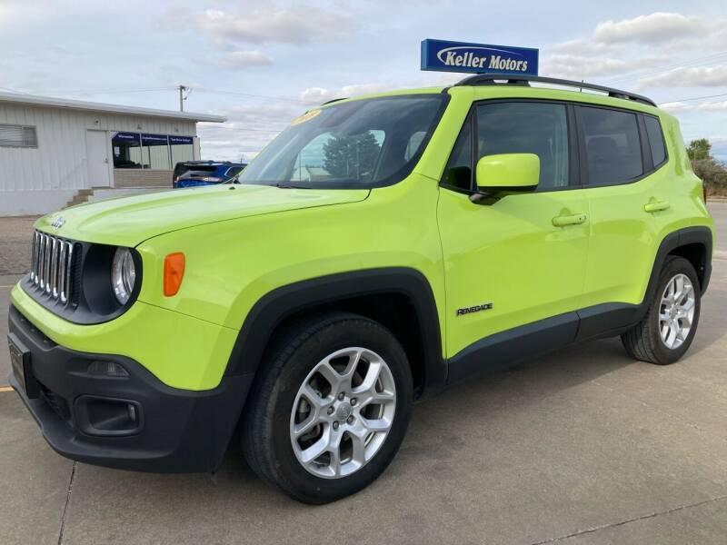2018 Jeep Renegade for sale at Keller Motors in Palco KS