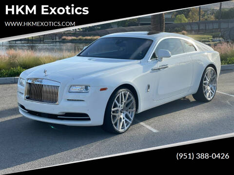 2014 Rolls-Royce Wraith for sale at HKM Exotics in Corona CA