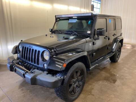 2014 Jeep Wrangler Unlimited for sale at Doug Dawson Motor Sales in Mount Sterling KY