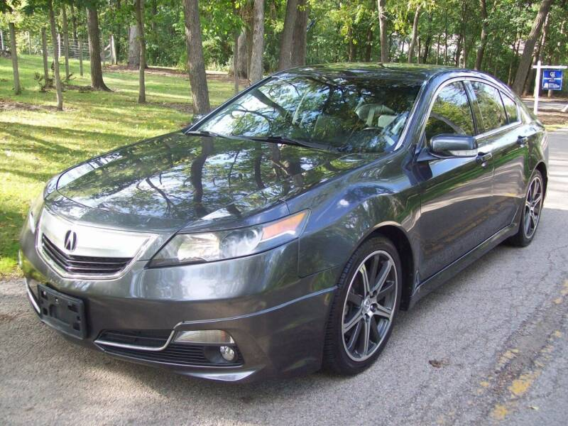 2013 Acura TL for sale at Edgewater of Mundelein Inc in Wauconda IL