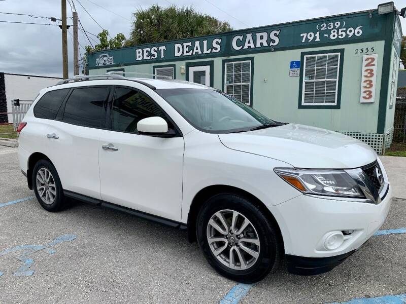 2014 Nissan Pathfinder for sale at Best Deals Cars Inc in Fort Myers FL