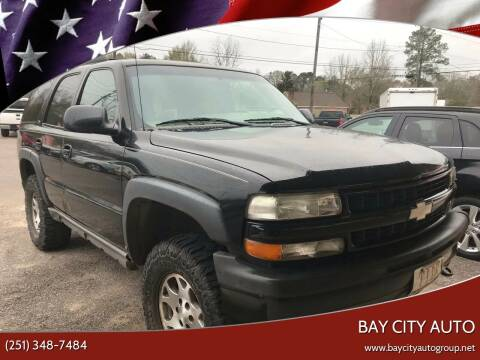 2003 Chevrolet Tahoe for sale at Bay City Auto's in Mobile AL