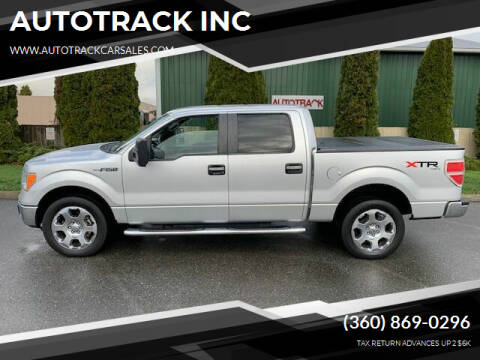 2010 Ford F-150 for sale at AUTOTRACK INC in Mount Vernon WA