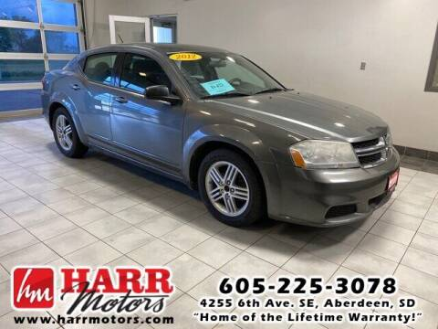 2012 Dodge Avenger for sale at Harr Motors Bargain Center in Aberdeen SD