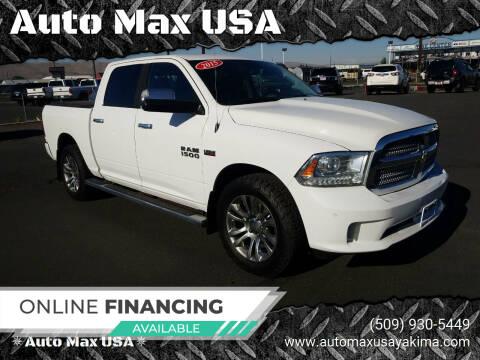 2015 RAM Ram Pickup 1500 for sale at Auto Max USA in Yakima WA