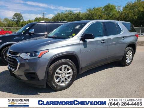 2019 Chevrolet Traverse for sale at Suburban Chevrolet in Claremore OK