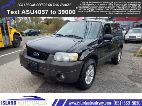 2005 Ford Escape for sale at Island Auto Sales in E.Patchogue NY