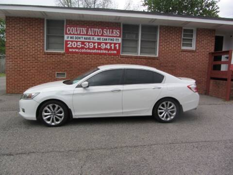 2014 Honda Accord for sale at Colvin Auto Sales in Tuscaloosa AL