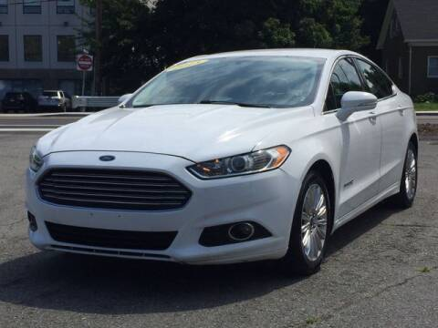 2013 Ford Fusion Hybrid for sale at All Star Auto  Cycle in Marlborough MA